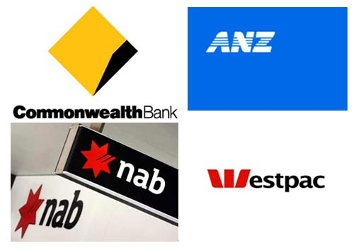 Largest 4 banks in Australia