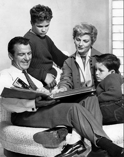 Cleaver Family, Leave it to Beaver, 1960 (Image: Wiki Commons)