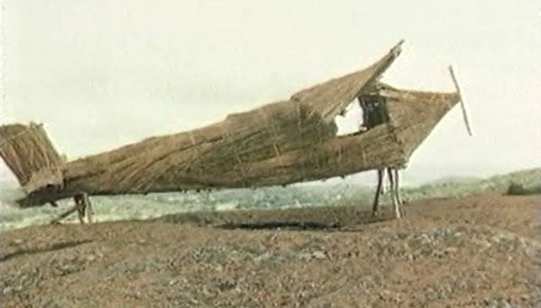 Plane made of wood. Image: Cargo Cult University