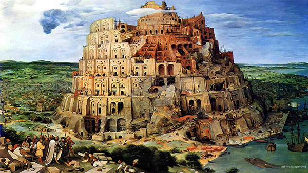 Tower of Babel (Source: Kunsthistorisches Museum, Vienna)