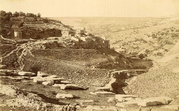 Village of Silwan 1870