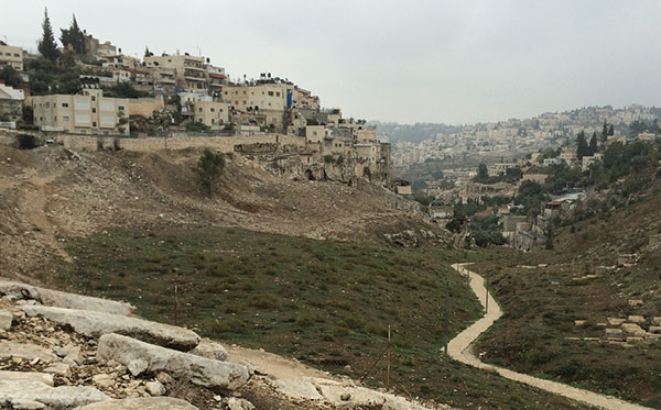 Village of Silwan today