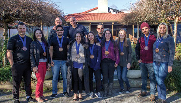 KI Students from All Nations ABA Church, Queenstown, receive their Bronze Medallions at Koinonia House's headquarters, the River Lodge, Reporoa, New Zealand