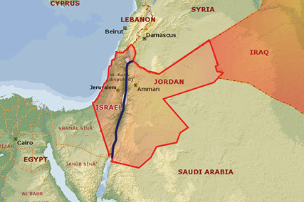 The first partition of Palestine