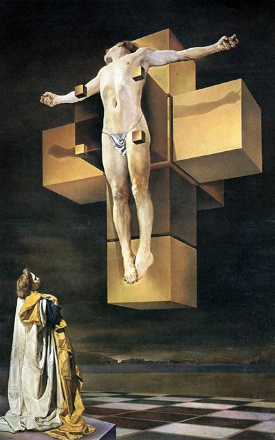Corpus Hypercubus by Salvador Dalí