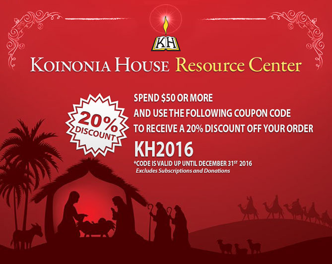 K-House Resource Center Christmas 20%-off code - KH2016