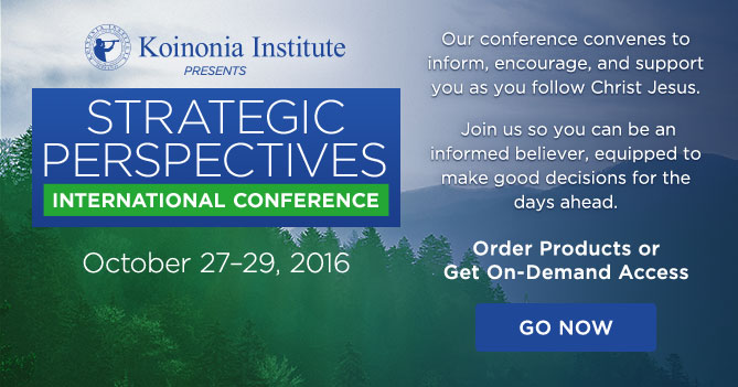 Strategic Perspectives Conference 2016