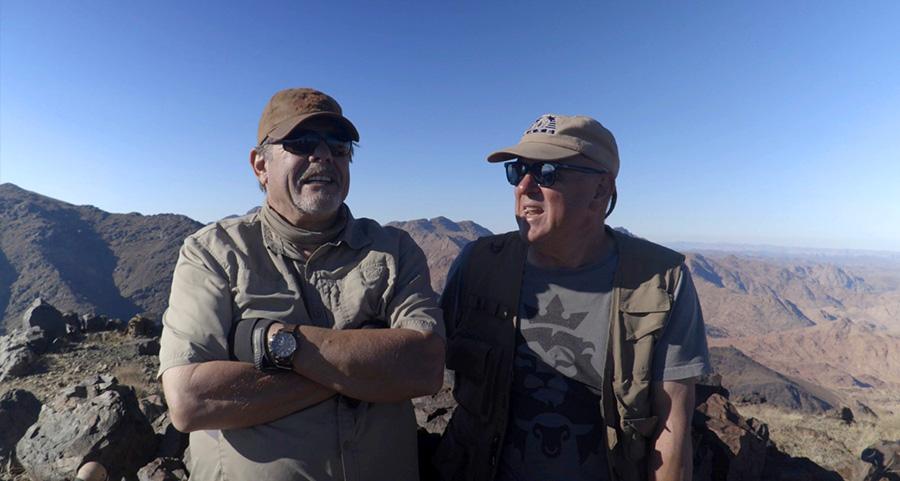 Bob Conuke and Ron Matsen